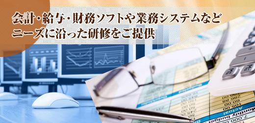 会計・給与計算ソフト企業研修 -IT顧問サービス-